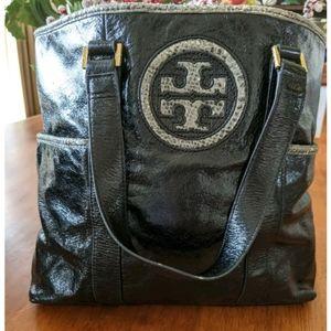 Tory Burch Ltd Ed Tote Bag in Black